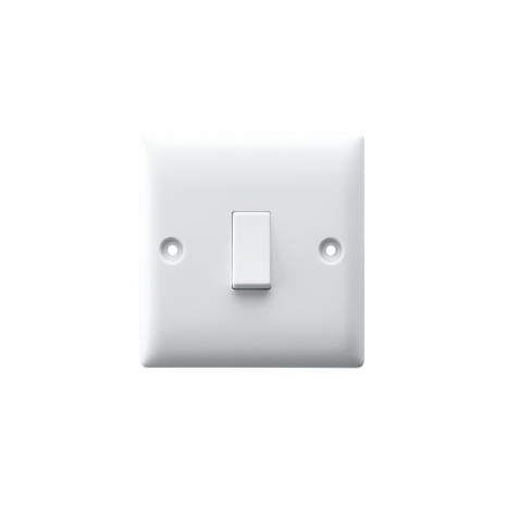 10AX 1 GANG 1 WAY SWITCH PLATE
