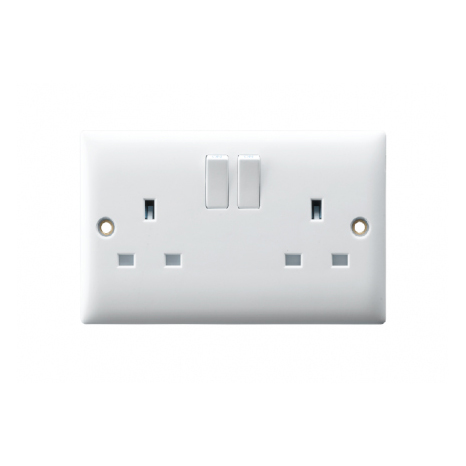 13A TWIN SWITCHED SOCKET OUTLET