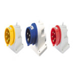 INDUSTRIAL WALL-MOUNTED PLUG IP 44